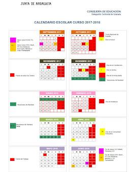 Calendario Escolar 2017/2018