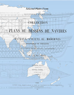 Book contains more than 130 ship plans from Paris Souvenirs de Marine
