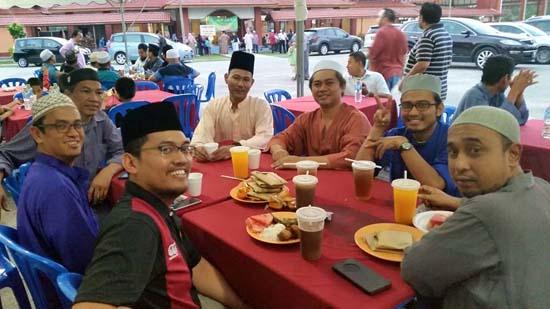 Majlis berbuka puasa ASTI Ihya Ramadhan 2015