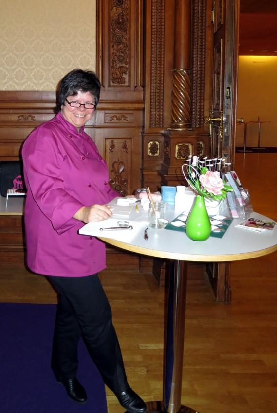 Tortenmesse Tortentante Monika Zuckerrose