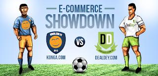 Konga Vs Dealdey  The Ultimate Ecommerce Football Showdown. Cc @ShopKonga  @DealDey