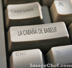 """FIN DE ESTA PAGINA. """" LA CABAÑA DE BABEUF"""" SE RENUEVA TODAS LAS SEMANAS.  INVITAMOS A VOLVER."""