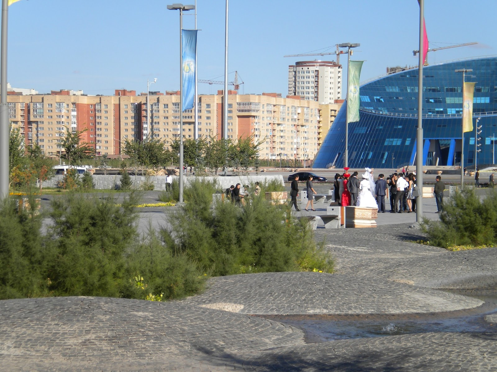 Bridge Gets Photo Taken in Astana