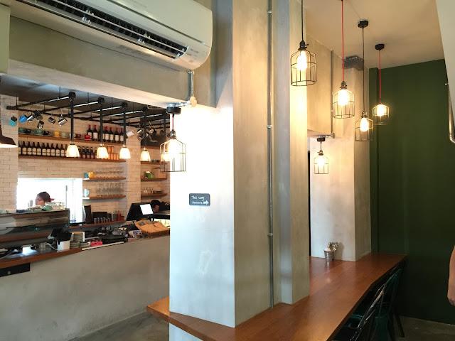Singapore cafe A.R.C Coffee - Sultan Gate