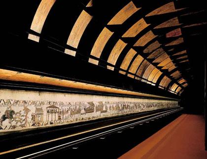 Histoire des arts tapisserie de bayeux 1066 1082 lin - Qu est ce que la tapisserie de bayeux ...