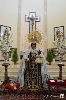 Virgen del Carmen de San Leandro