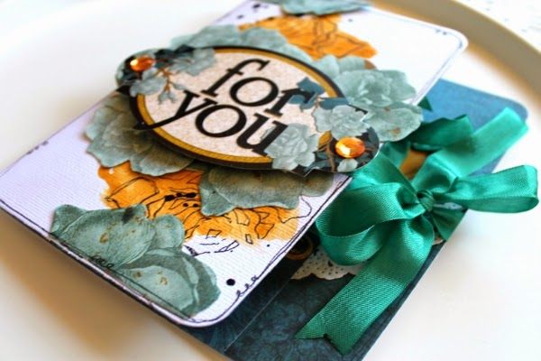 For You- Tea Wallet by Bernii Miller