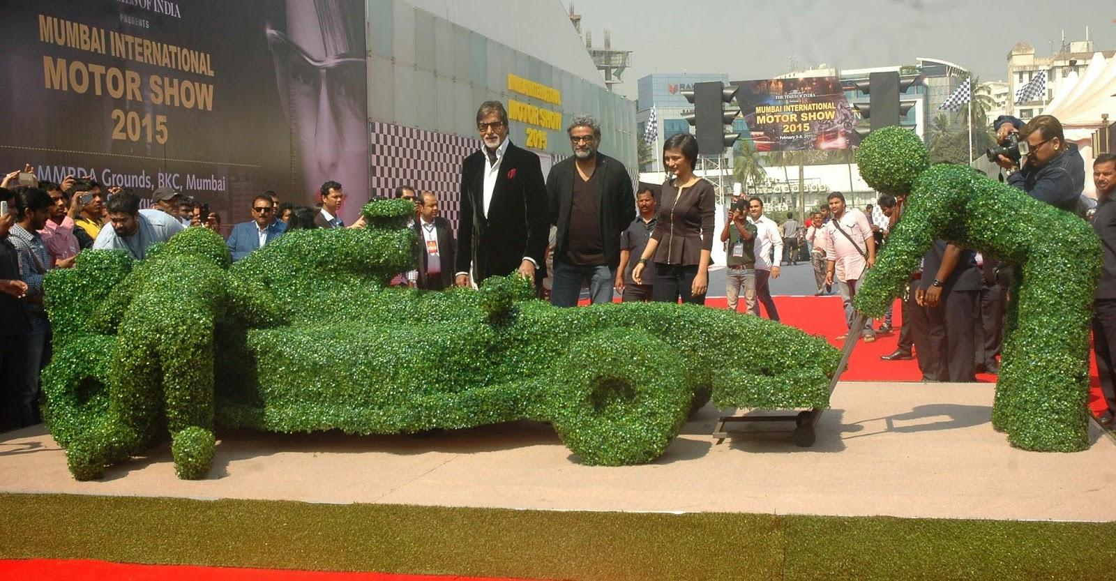 Amitabh, Akshara Haasan & R. Balki grace 'Mumbai International Motor Show 2015'