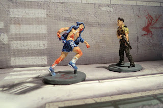 Zombicide Survivor Phil the Cop Painted