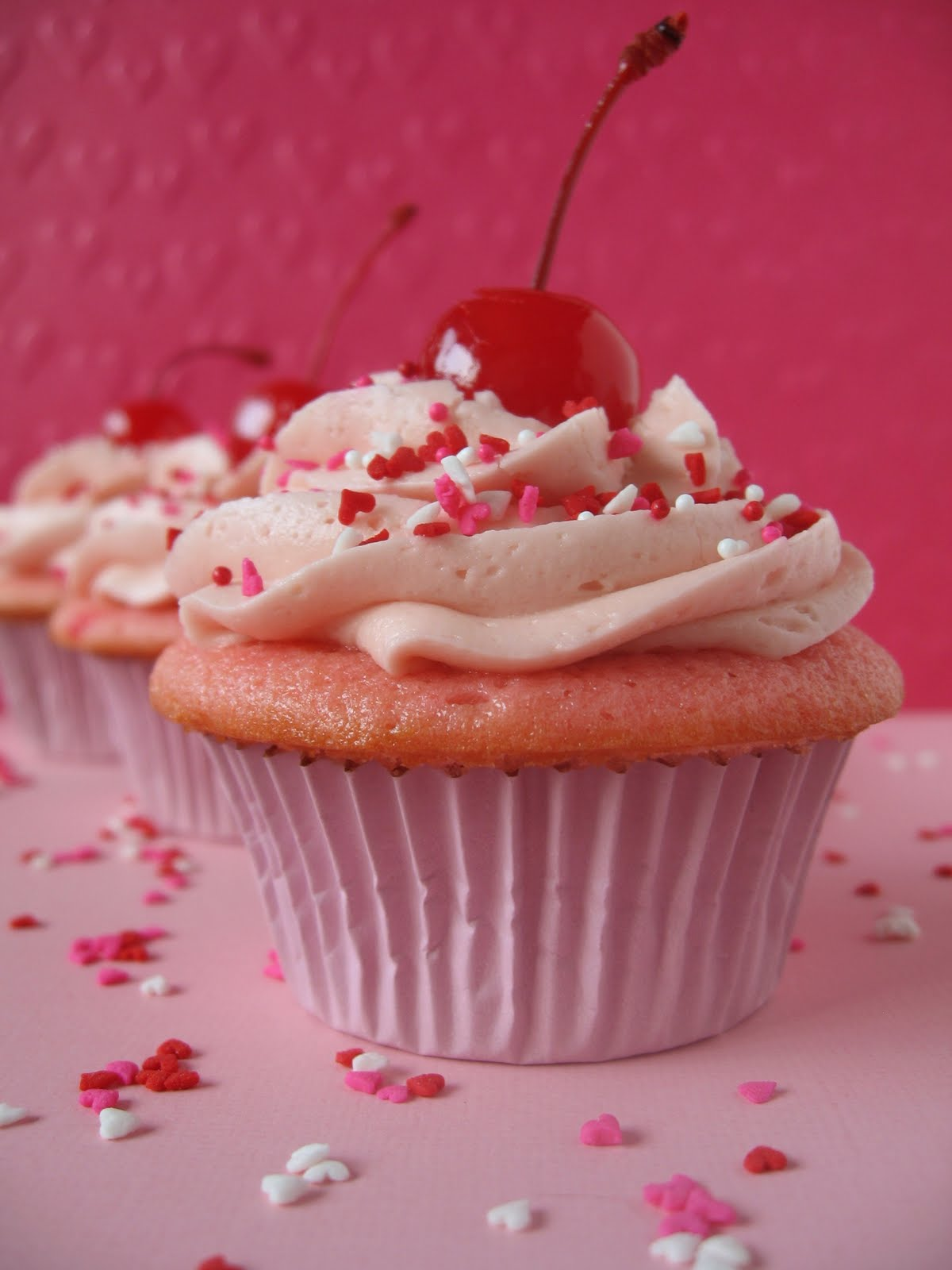 Cherry Chip Cupcake Recipe