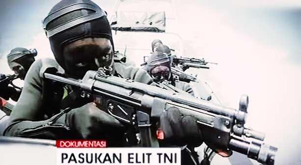 Gambar Senjata Canggih pasukan elt TNI AL