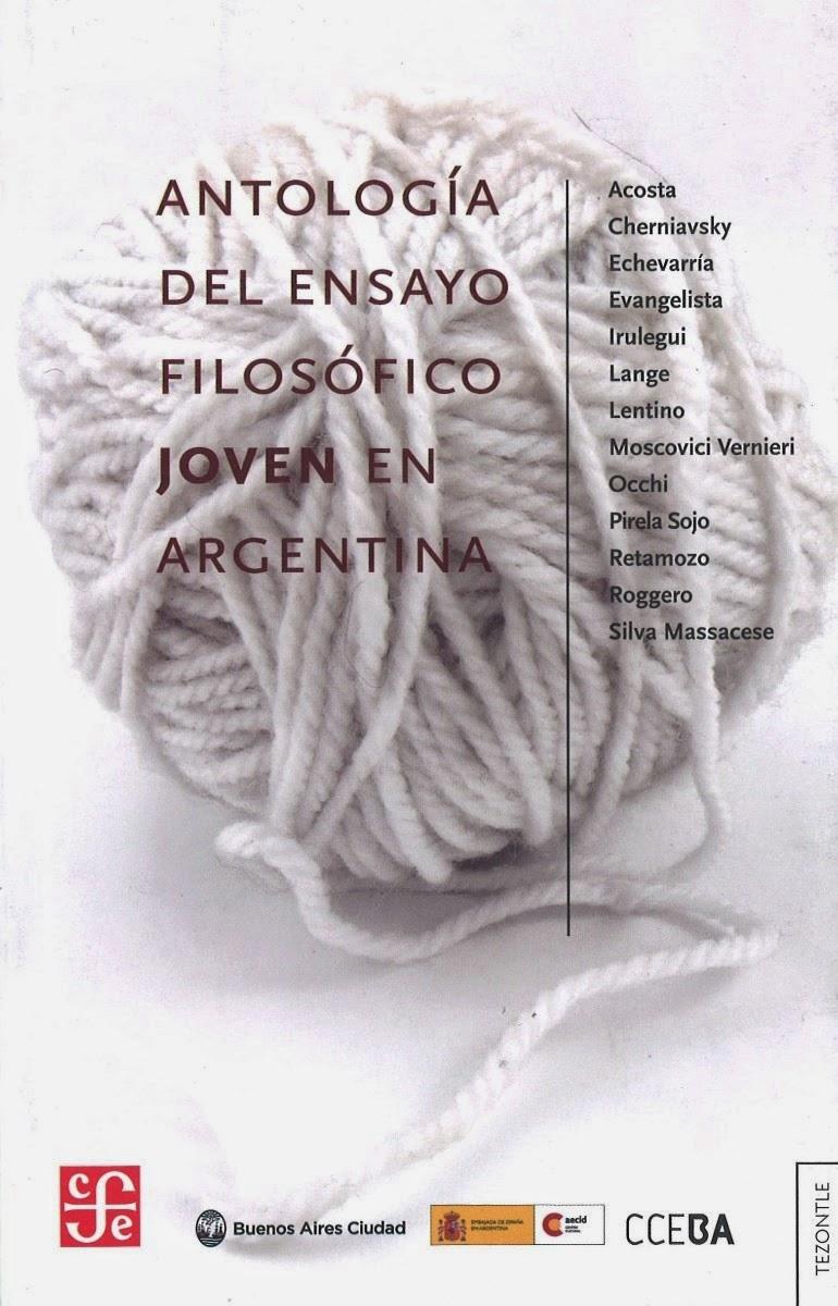 2012, Antología, Ensayo