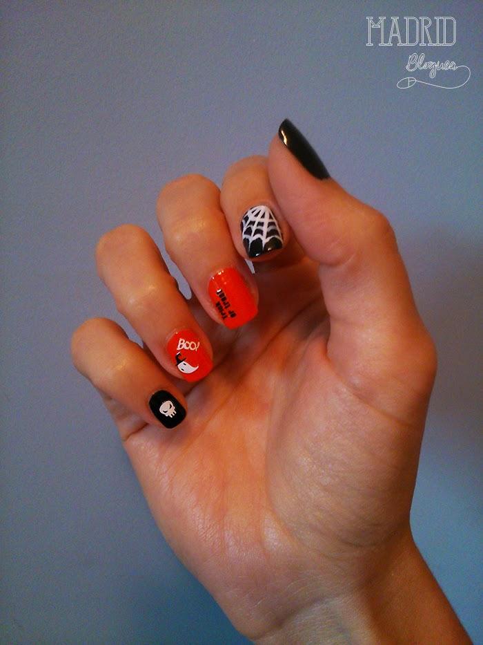 Nail Art especial Halloween