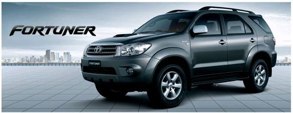 Harga Toyota Fortuner SUV