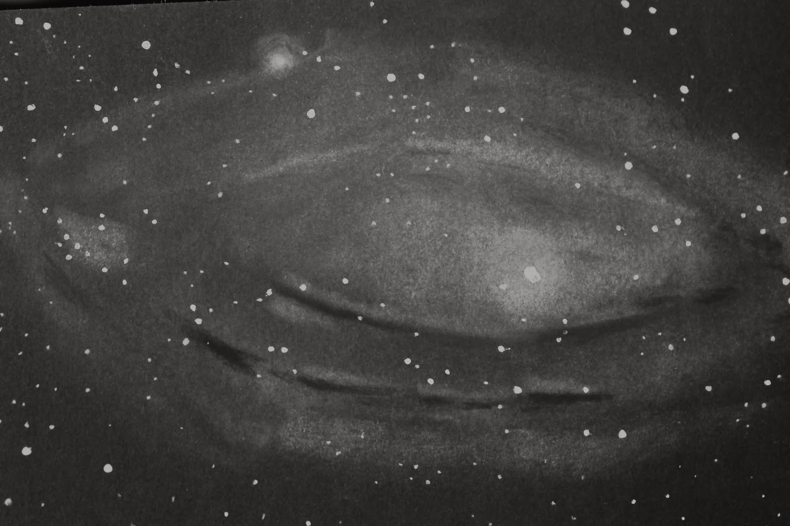 andromeda galaxy essay Could there be life in the galaxies nearest to the milky way (intermediate) and helium in the galaxy andromeda galaxy is the only other galaxy.