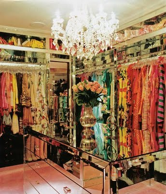Closet Full Of Dresses