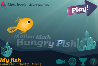 Motion Math: Hungry Fish for Kids- Learn Maths with fun on iPad