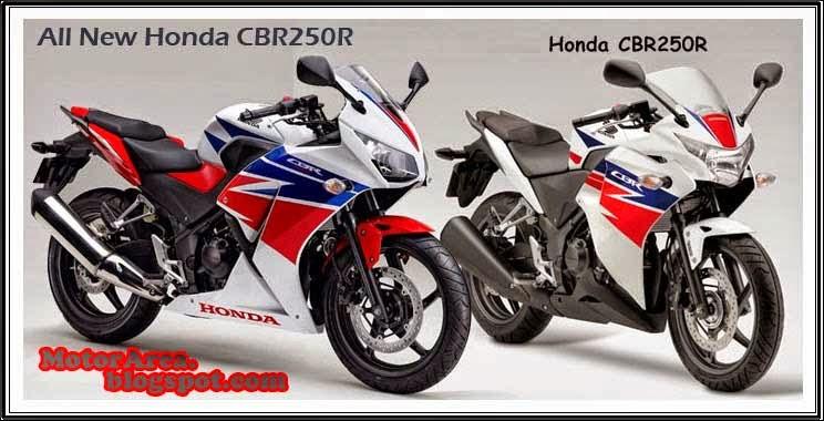 16 Part CBR250R Diubah, Ditanam di All New Honda CBR250R Versi Baru