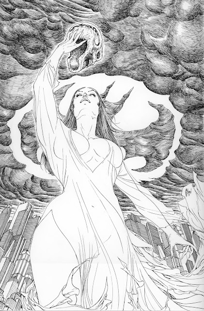 BATMAN INC 11 variant cover by Guillem March