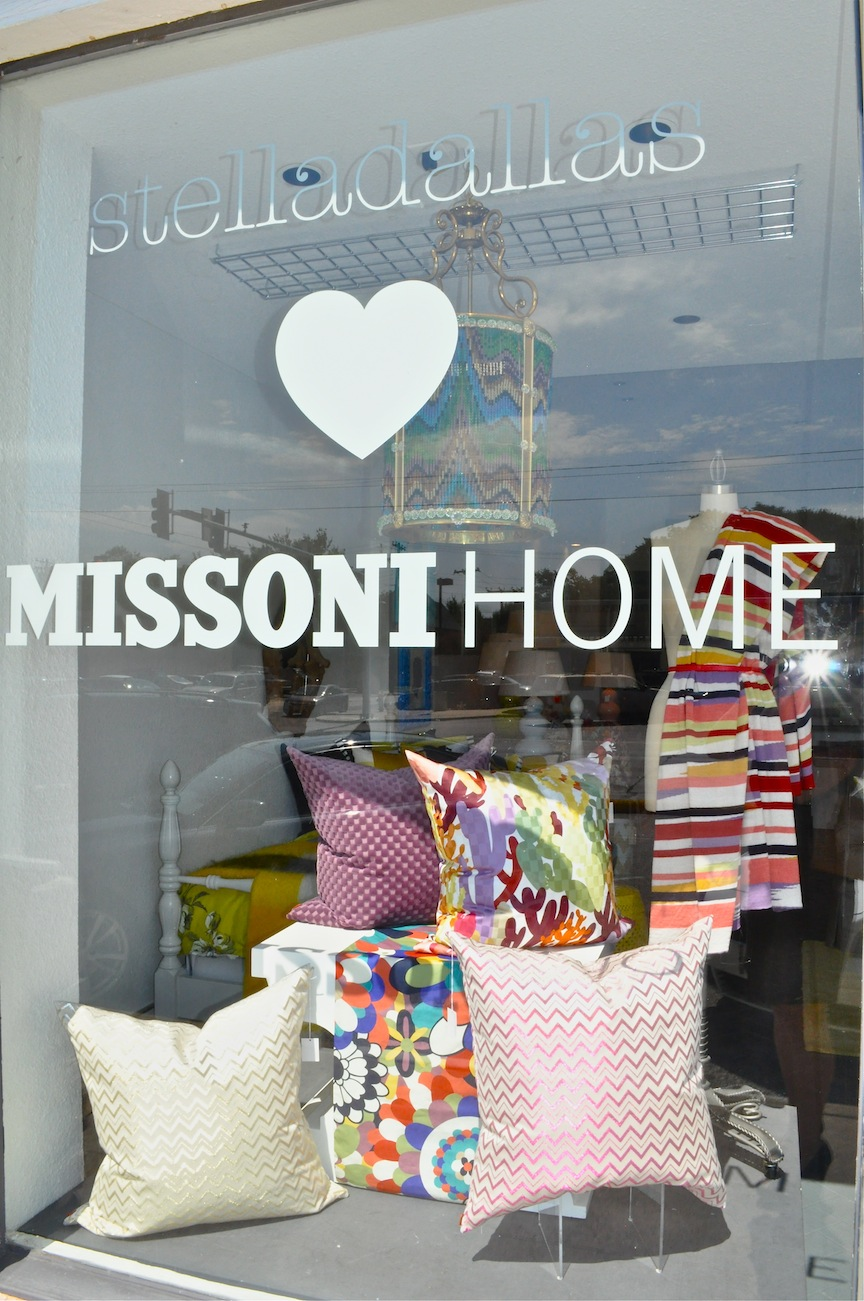 little miss wade can 39 t get enough missoni home. Black Bedroom Furniture Sets. Home Design Ideas