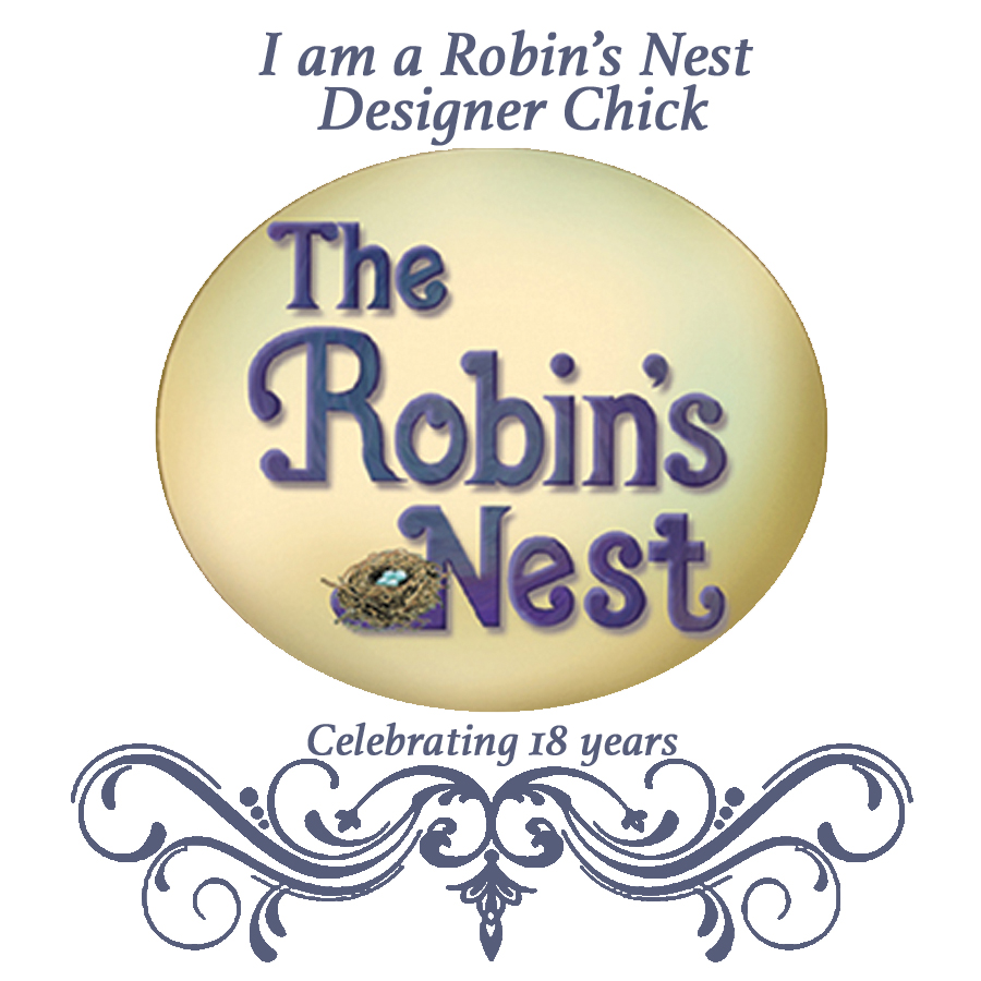 I proudly design for The Robin's Nest