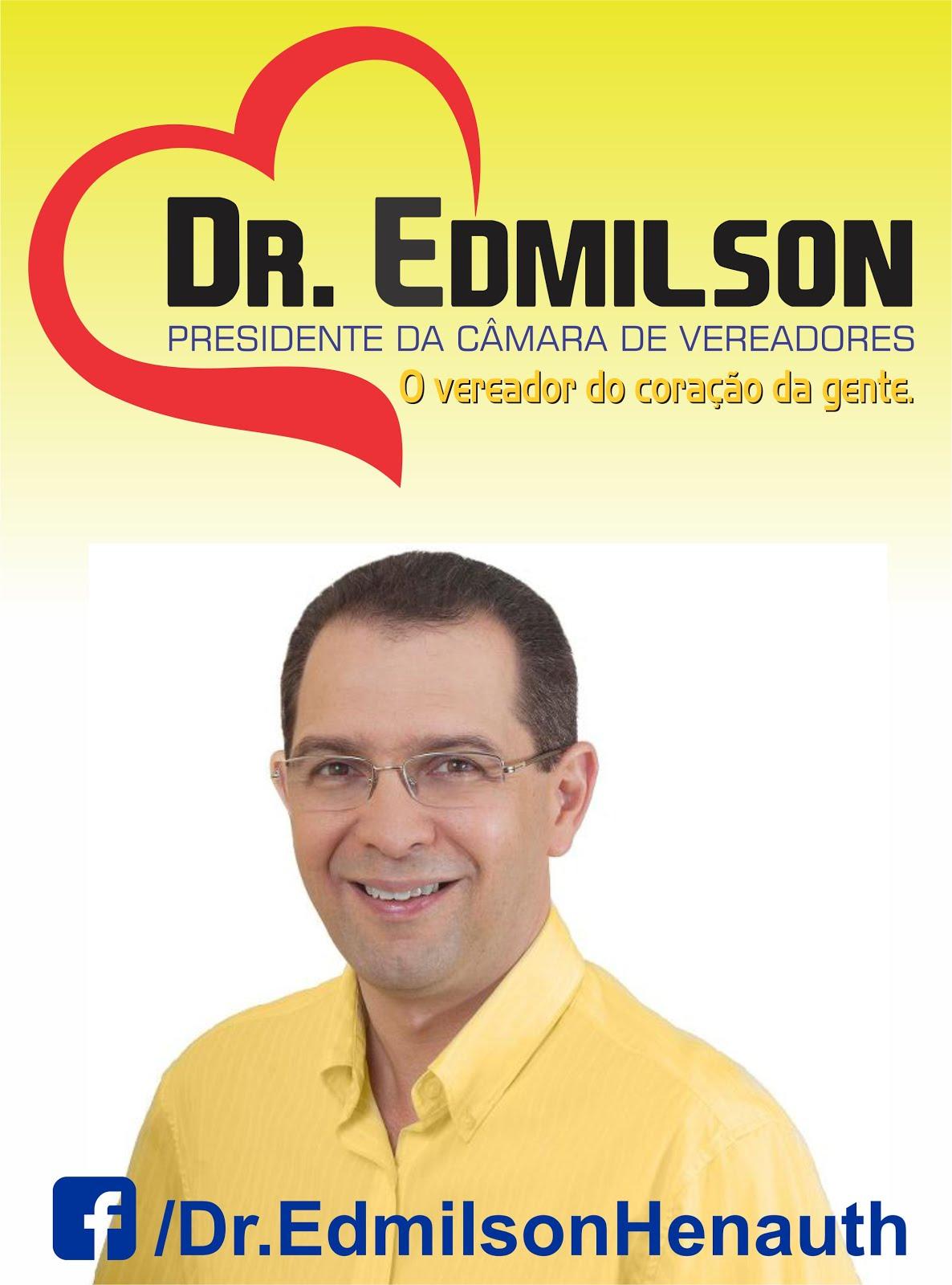 Publicidade - Vereador Dr. Edmilson Henauth