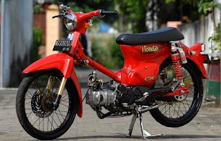 Contoh Modifikasi Honda C70
