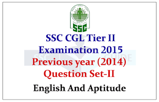 SSC CGL Tier II Previous year 2014 Questions Paper2
