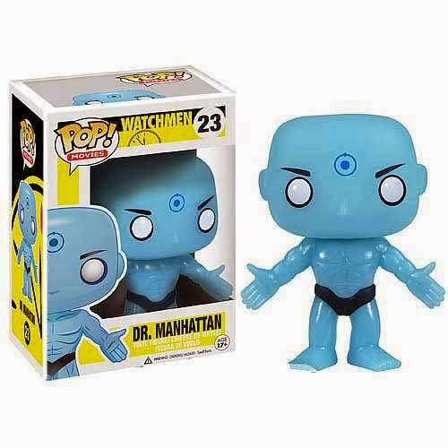 Cabezón Doctor Manhattan Watchmen