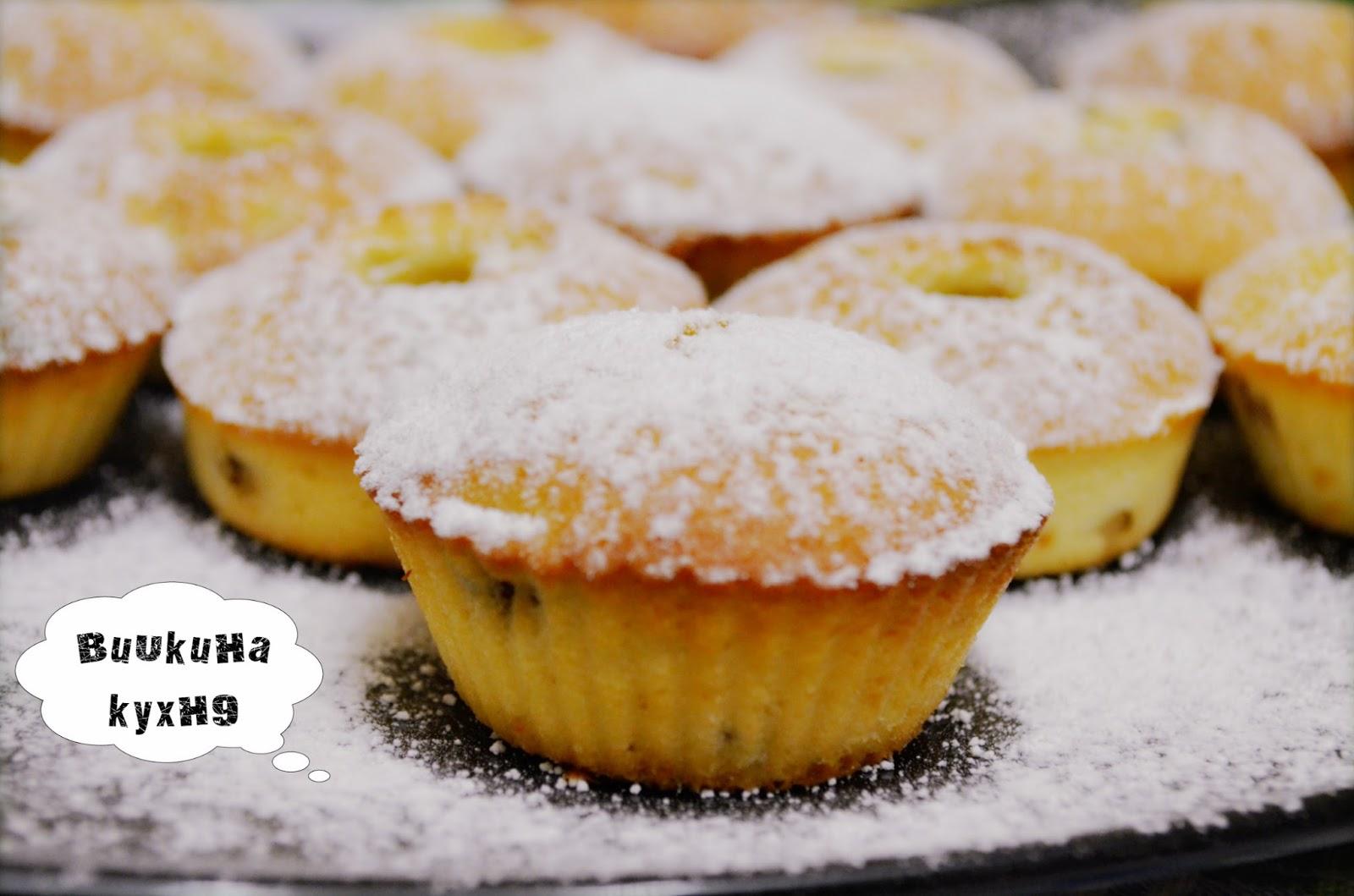 Рецепт кексов по английскому