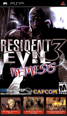 PSX-PSP] Resident Evil 3 Nemesis completo para PSP ~ Download [PSX-PSP