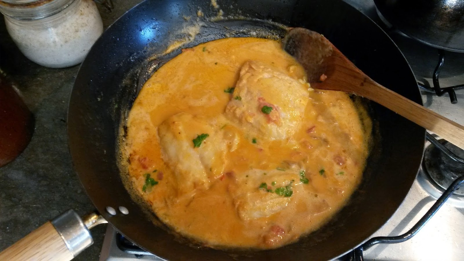 My low carb high fat family vovo 39 s moqueca cod fish in for How many carbs in fish