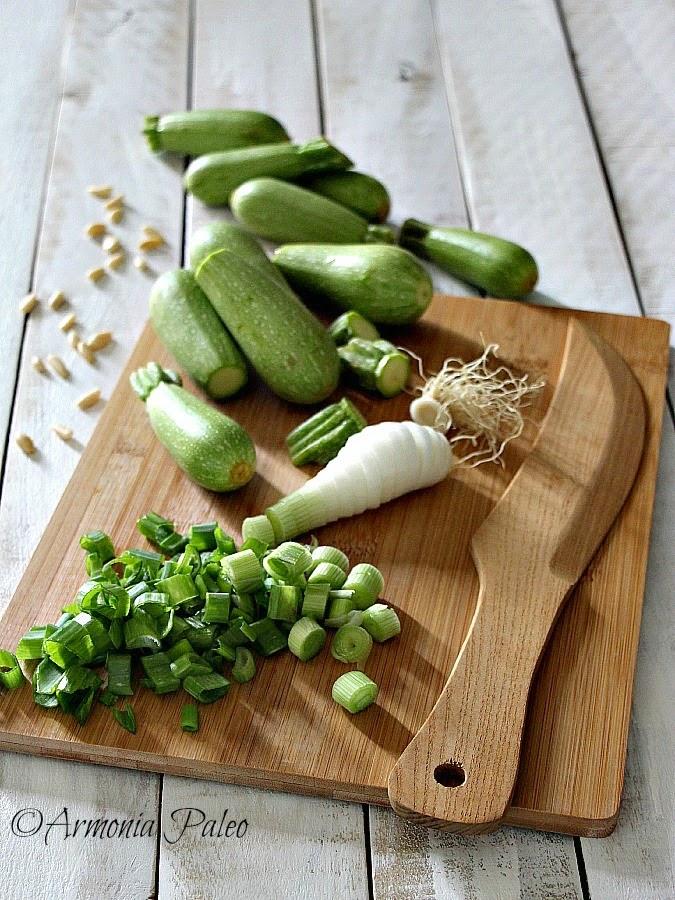 Vellutata di Zucchine alla Ligure di Armonia Paleo