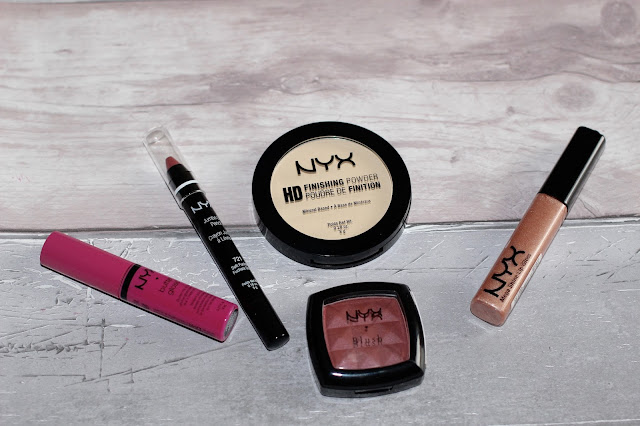 NYX COSEMTICS SWATCHES AND REVIEW