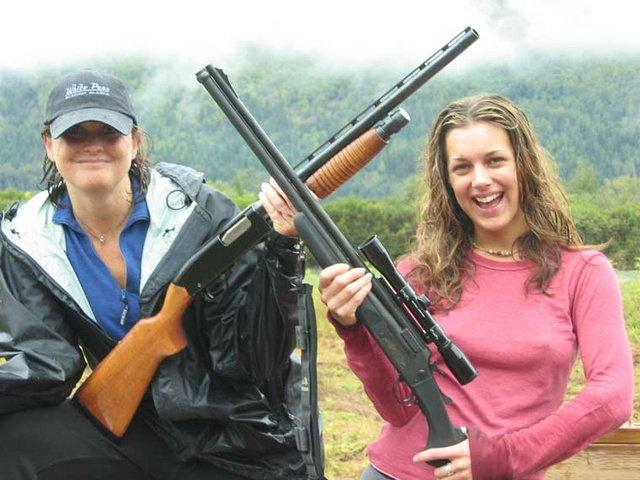 girls hunting Hot