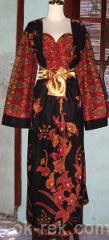 abaya modern batik