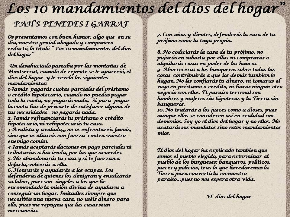 Los 10 mandamientos de los - Los 10 locos mandamientos ...