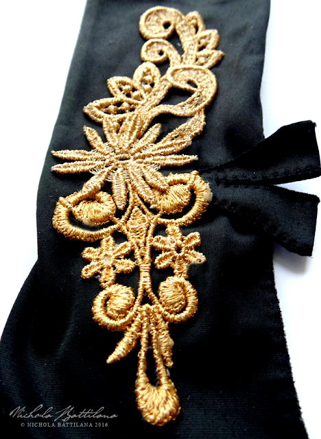 Embellished Opera Gloves - Nichola Battilana