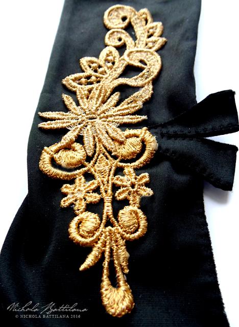 Embellished Opera Gloves - Nichola Battilana