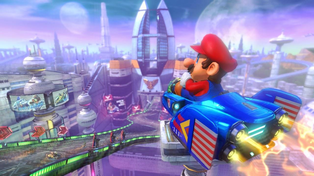 Mario Kart 8 a 200cc ¡Es una locura!