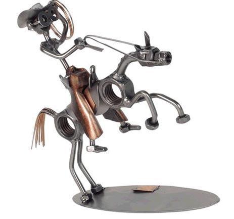 Afbeeldingsresultaat voor figuras de metal reciclado