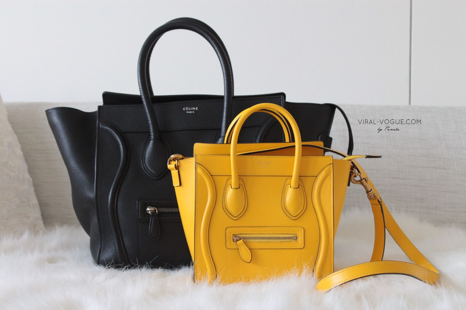 buy celine bags online - VIRAL-VOGUE: C��line Luggage comparison & review (C��line Mini X ...