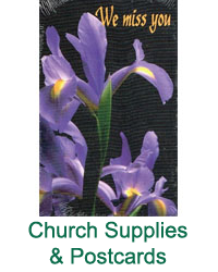 Church Supplies & Postcards