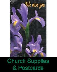 Church Supplies & Postcards