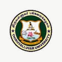 Thiruvalluvar University Results 2015 Nov Dec