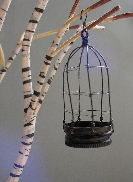 Lanterna rústica decorativa