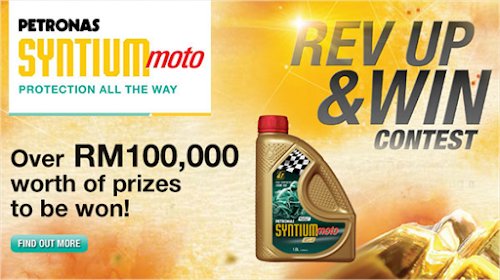 Petronas Syntium Moto 'Rev Up & Win' Contest