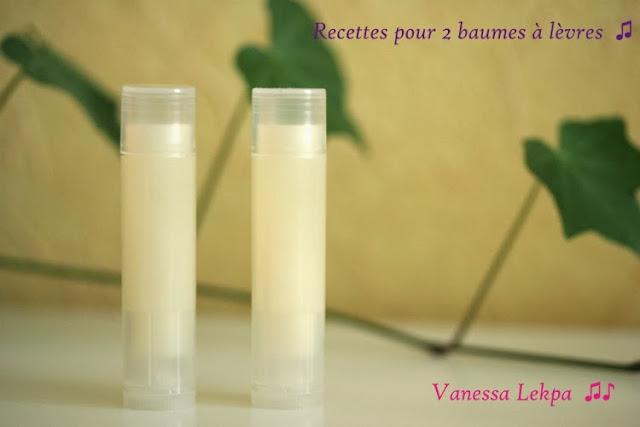 réaliser un baume à lèvres très facile au beurre de karité peu d'ingrédients et rapidement