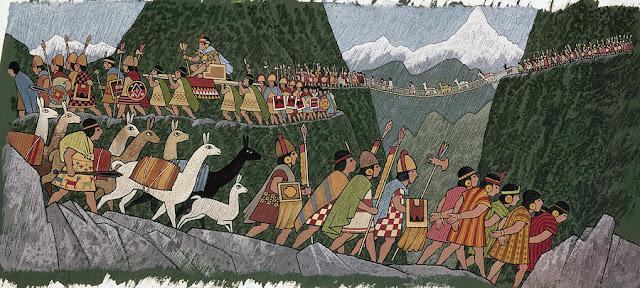 அறியாமலிருக்கும் அற்புதங்கள் A-victorious-inca-emperor-and-his-army-ned-m-seidler%2B%25281%2529