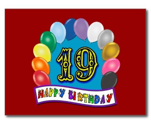 Verjaardagsteksten Verjaardagsteksten 19 Jaar